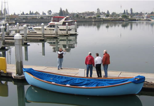 Acquiring the boat, unnamed at the dock